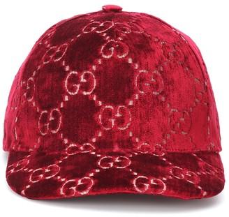 Gucci GG velvet cap