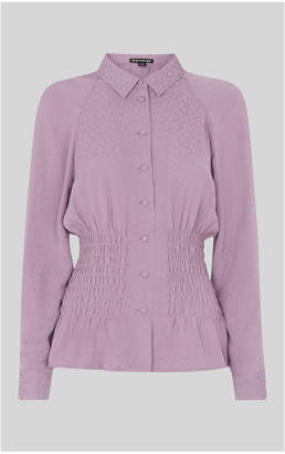 Whistles Claris Animal Jacquard Blouse