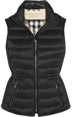 Burberry - Quilted Shell Down Gilet - Black $595 thestylecure.com