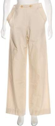 Bottega Veneta High-Rise Wide-Leg Pants