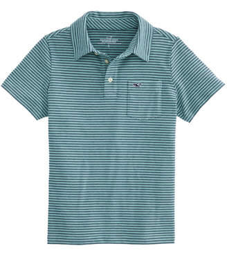Vineyard Vines Boys Caleb's Pond Edgartown Polo