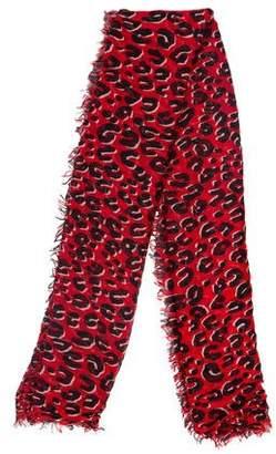 Louis Vuitton Graffiti Leopard Shawl