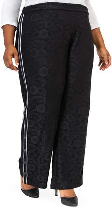 Justice Poetic Cornella Lace Knit Track Pants