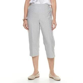 Alfred Dunner Women's Studio Pull-On Capri Pants