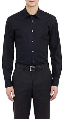 Ermenegildo Zegna Men's Solid Poplin Shirt