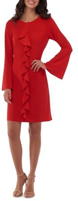 Women's Eci Bell Sleeve Shift Dress $88 thestylecure.com