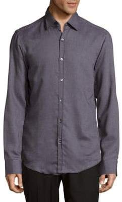 HUGO BOSS Simon Cotton Casual Button-Down Shirt