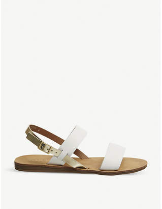 Office Honey slingback leather sandals