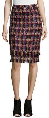 Trina Turk Jael Tweed Pencil Skirt $268 thestylecure.com