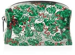 Skinnydip London Skinnydip Snake & Palm Print Cosmetics Bag