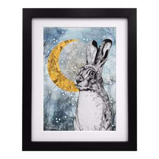 Coleman Louise Limited Edition Lucky Hare Art Print