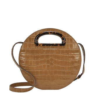 Loeffler Randall Indy Embossed Circle Crossbody