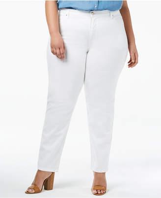 Lee Platinum Plus Size Gwen Straight Jeans