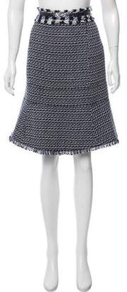 Tory Burch Embellished Knee-Length Skirt