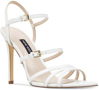 f403ec098 Nine West Gilficco Strappy Dress Sandals Women Shoes