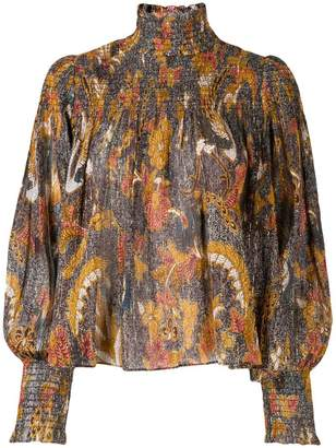 Ulla Johnson paisley blouse