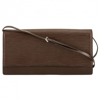 Louis Vuitton Pochette Accessoire leather clutch bag