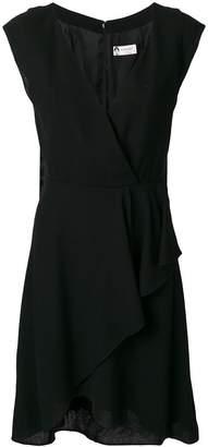 Lanvin wrap style sleeveless dress