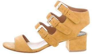 Laurence Dacade Suede Buckle Sandals