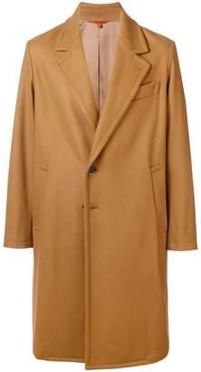 Barena boxy single-breasted coat