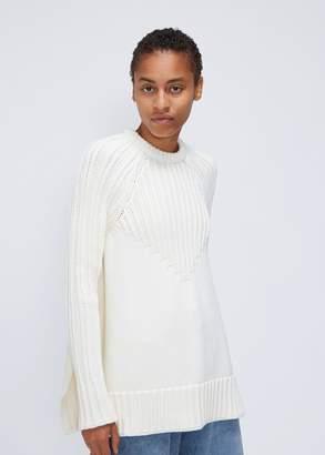 Paco Rabanne Long Sleeve Oversized Sweater