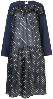 Sofie D'hoore gathered polka dot dress