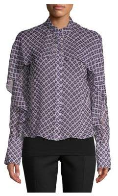 90fd8ce3b82a8 Diane von Furstenberg Purple Clothing For Women - ShopStyle Canada