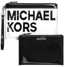 MICHAEL Michael Kors Patent Travel Wristlet