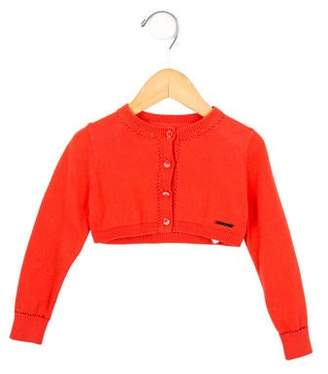 Little Marc Jacobs Girls' Cropped Cardigan w/ Tags