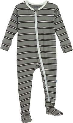 Kickee Pants Stripe Footie