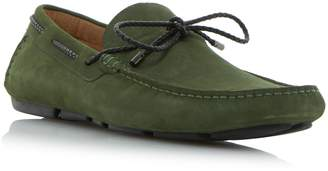 Dune MENS BARNACLE - Plait Lace Up Driver Loafer