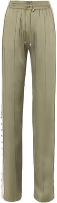 Jonathan Simkhai Varsity-Striped Track Pants