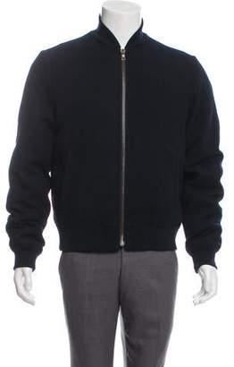 Prada Sport Wool Bomber Jacket