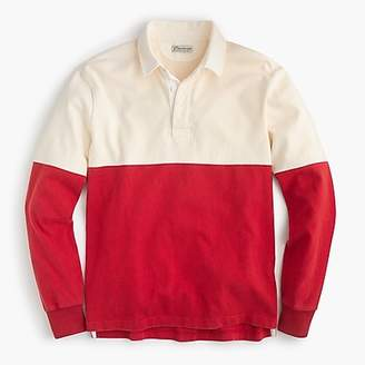 J.Crew Unisex 1984 rugby shirt in colorblock
