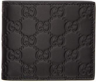 Gucci Black Signature Wallet