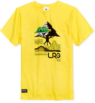 Lrg Men's Tree Tech Cotton Graphic-Print Logo T-Shirt $28 thestylecure.com