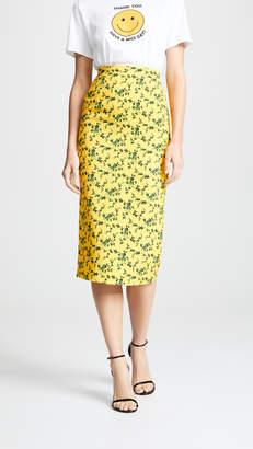 No.21 No. 21 Floral Midi Skirt