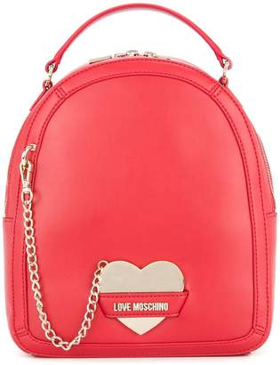 Love Moschino chain-detail backpack