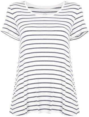 Majestic Filatures striped short-sleeve swing T-shirt