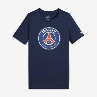 Nike Paris Saint-Germain Crest Big Kids' (Boys') T-Shirt