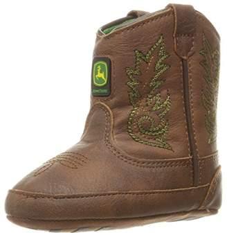 John Deere Baby BAB Drk Chestnut PO Pull-on Boot