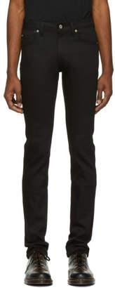 Naked & Famous Denim Denim Black Super Guy Power Stretch Jeans