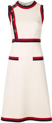 Gucci Web trim dress