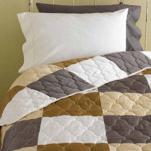 Organic Cotton Patchwork Quilt