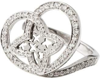 Louis Vuitton White gold ring