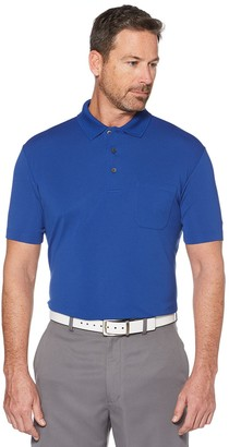 Equipment Men's Grand Slam Off Course Regular-Fit Textured Pocket Golf Polo