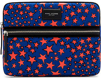 Marc Jacobs (マーク ジェイコブス) - Flocked Star Printed Biker 13 Computer Case