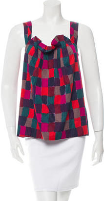 Marc by Marc Jacobs Printed Sleeveless Top $65 thestylecure.com