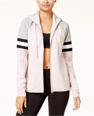 Material Girl Active Juniors' Colorblocked Hoodie, Created for Macy's