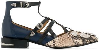 Toga Pulla embellished close sandals
